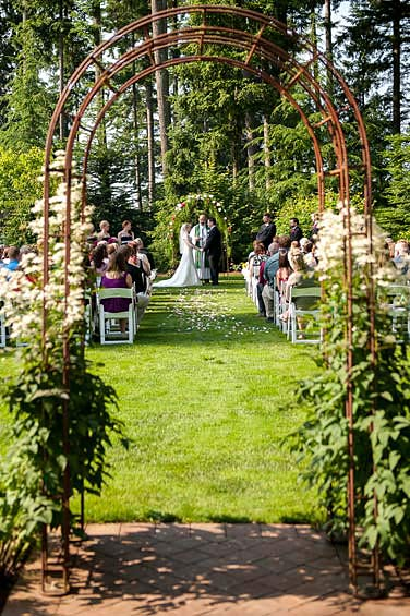 East Garden - Evergreen Gardens Weddings & Receptions