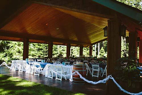 Pavilion - Evergreen Gardens Weddings & Receptions