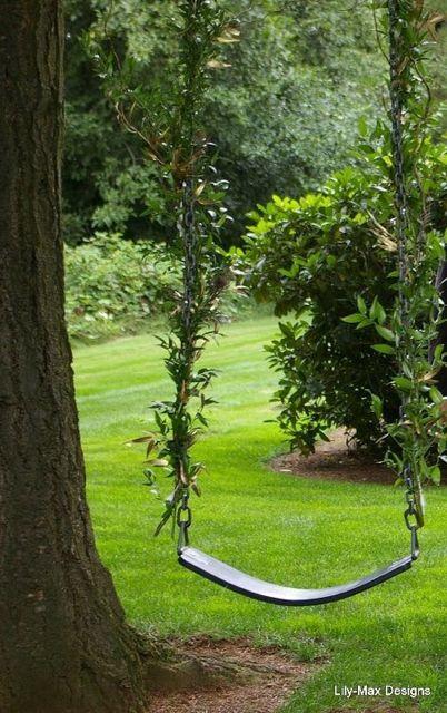 Swing at Evergreen Gardens