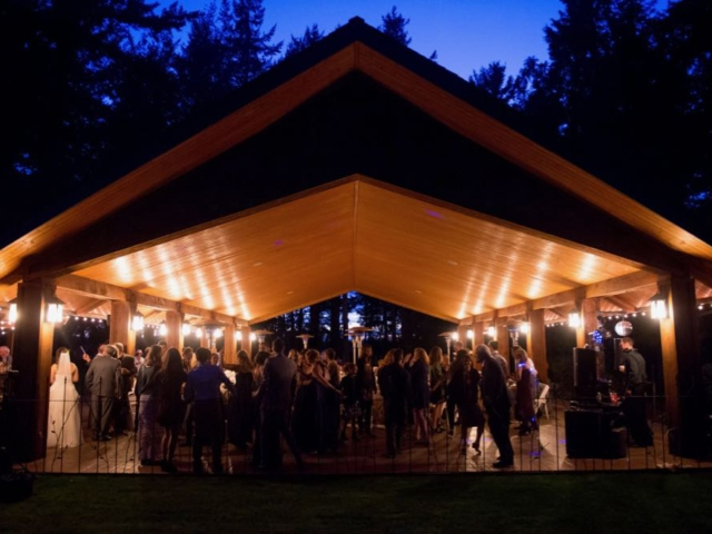 receptions outdoor weddings receptions in bellingham