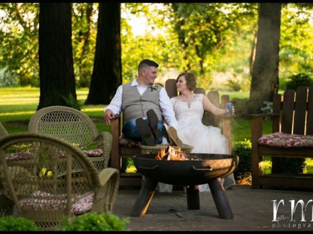 reception-bellingham-wedding-venue-evergreen-gardens-firepit